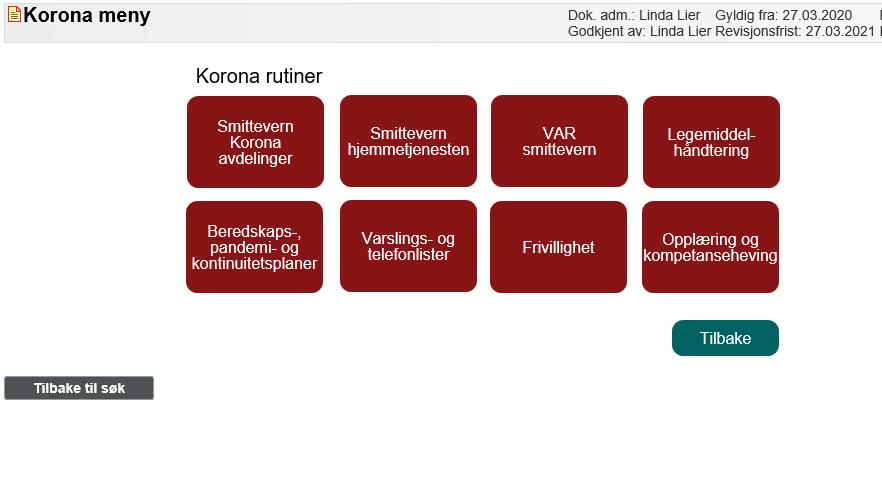 Rutiner I Eqs Korona Kursportal Drammen Kommune